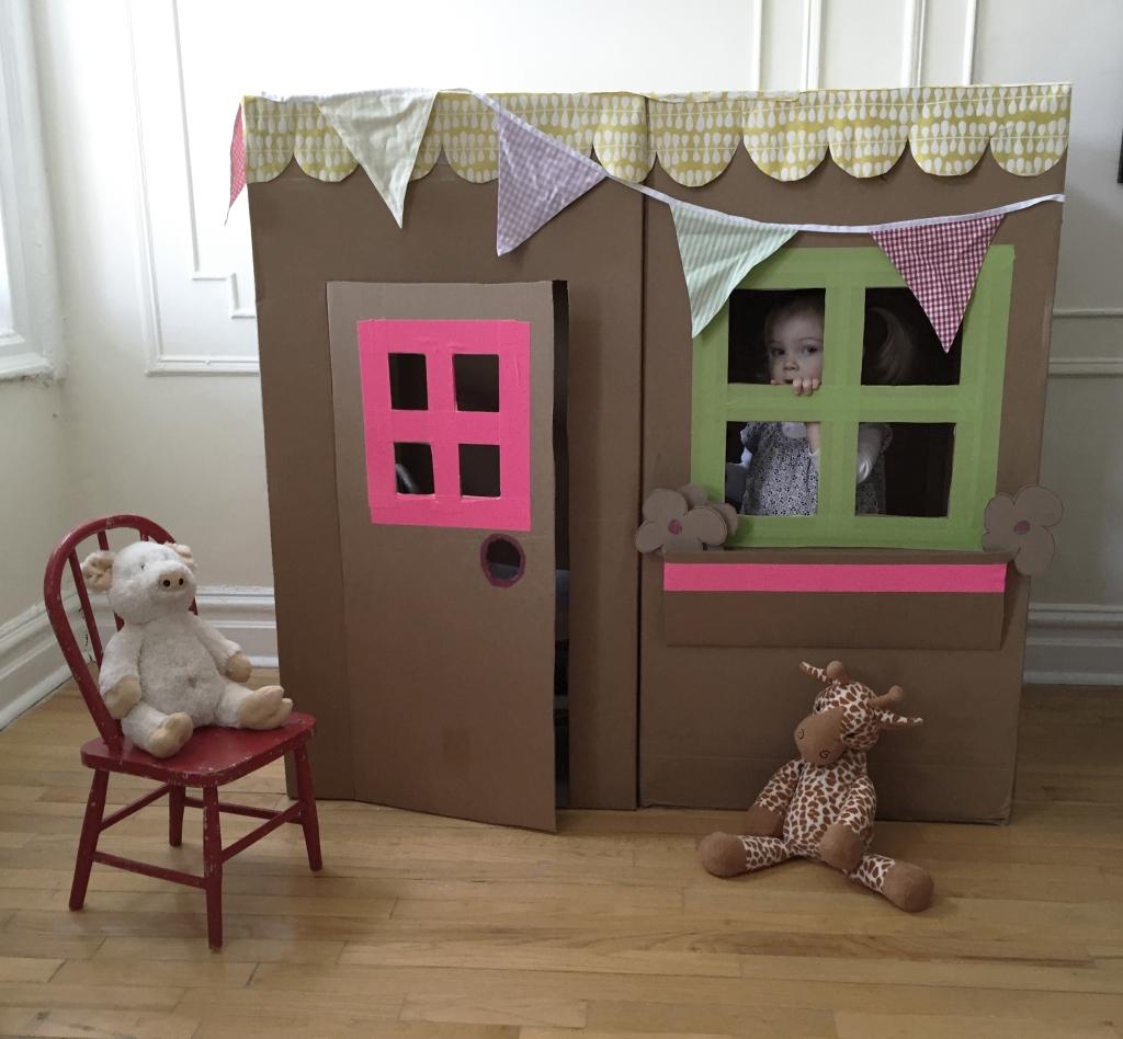 Five Cardboard House