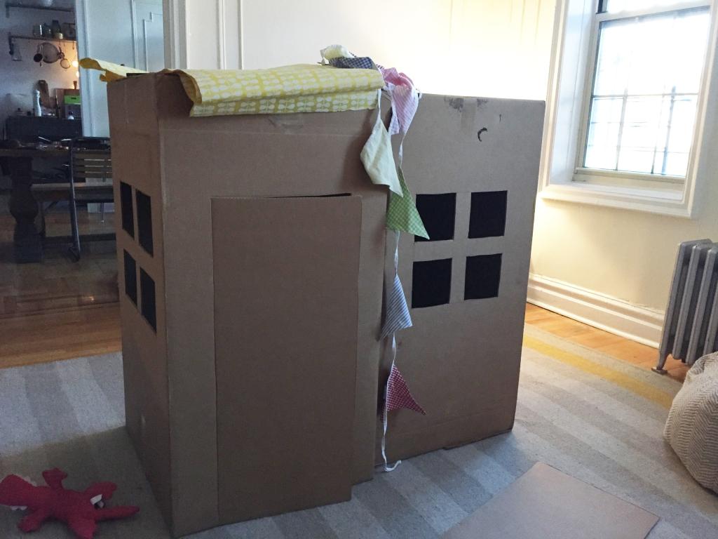Four Cardboard House